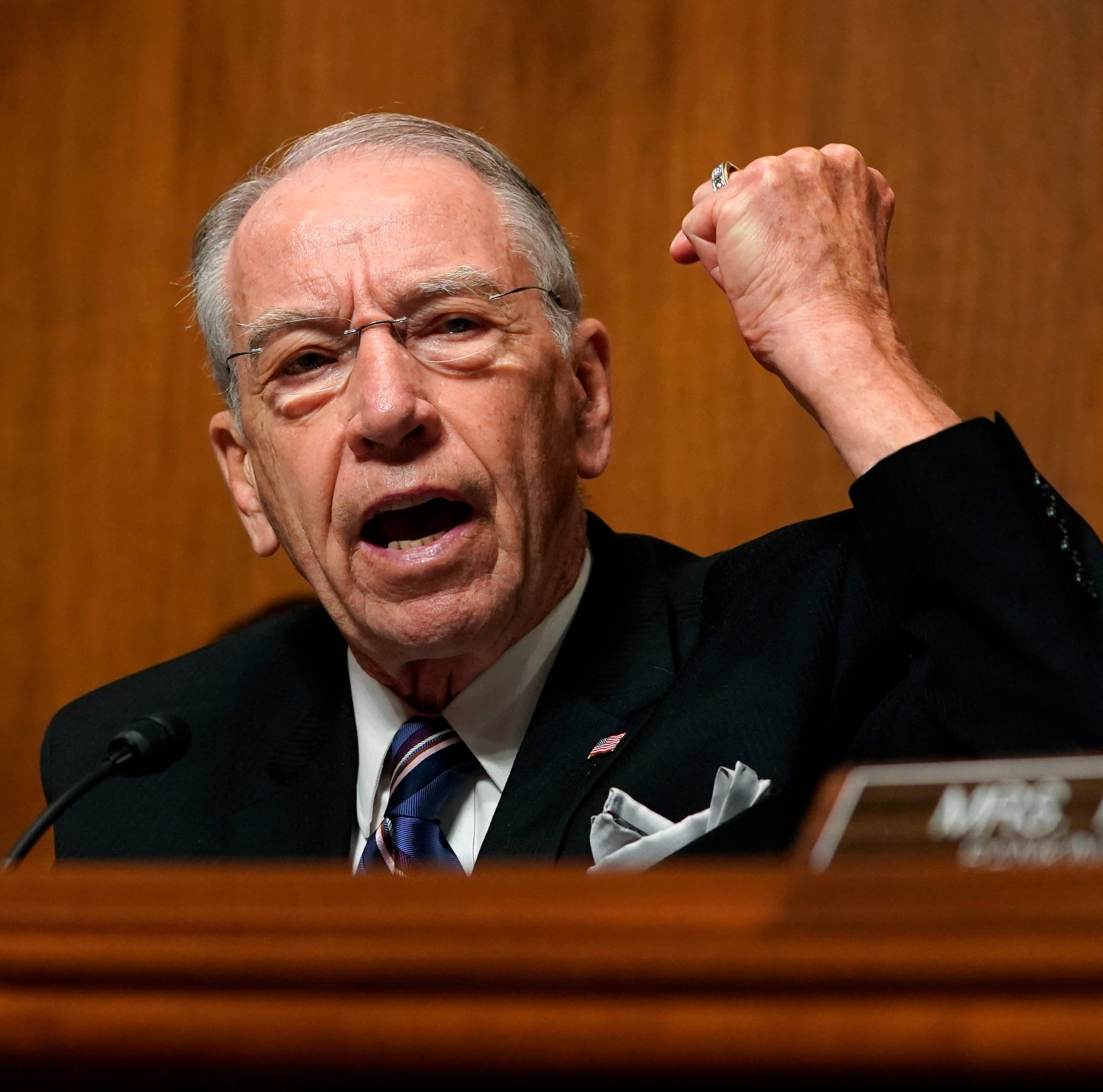 Donald Trump said wind turbines cause cancer. Chuck Grassley called that 'idiotic.'