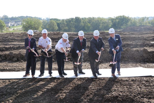 City Officals From Clive And Urbandale Break Ground At The Future Site O