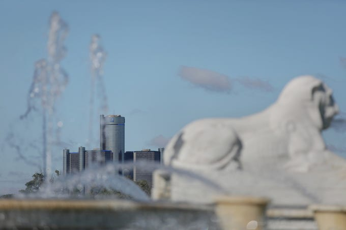 The Scott Fountain on Belle Isle on Monday, September 11, 2018.The Chevrolet Detroit Grand Prix presented by Lear announced a $400,000 contribution from the 2018 Grand Prixmiere fundraiser to help keep the iconic Scott Fountain operating on Belle Isle.