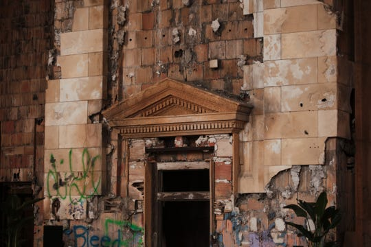 A view of the interior of Michigan Central Station in Detroit is seen on Wednesday September 13, 2017 during Crain's Detroit Homecoming IV event.