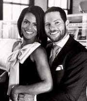 WDIV anchor, Rhonda Walker and fiancee Jason Drumheller