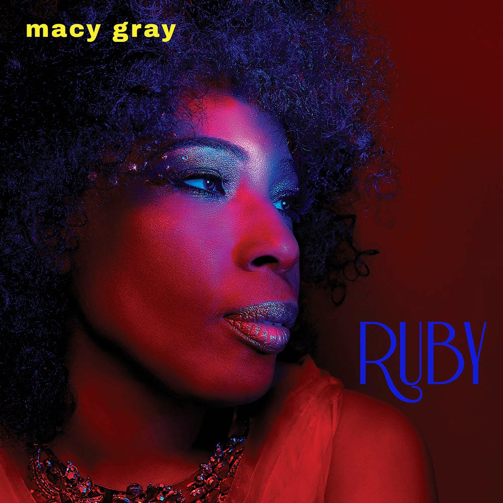 """Ruby,"" Macy Gray's tenth album."