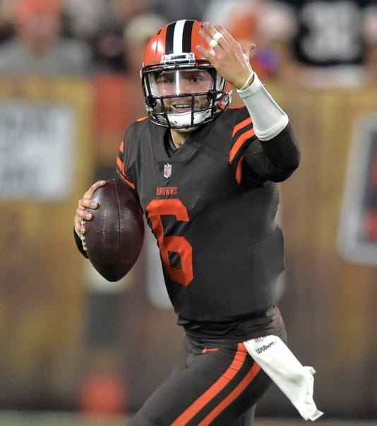 Wednesday s NFL  Cleveland Browns  Baker Mayfield draws praise for ... 6d22ba610