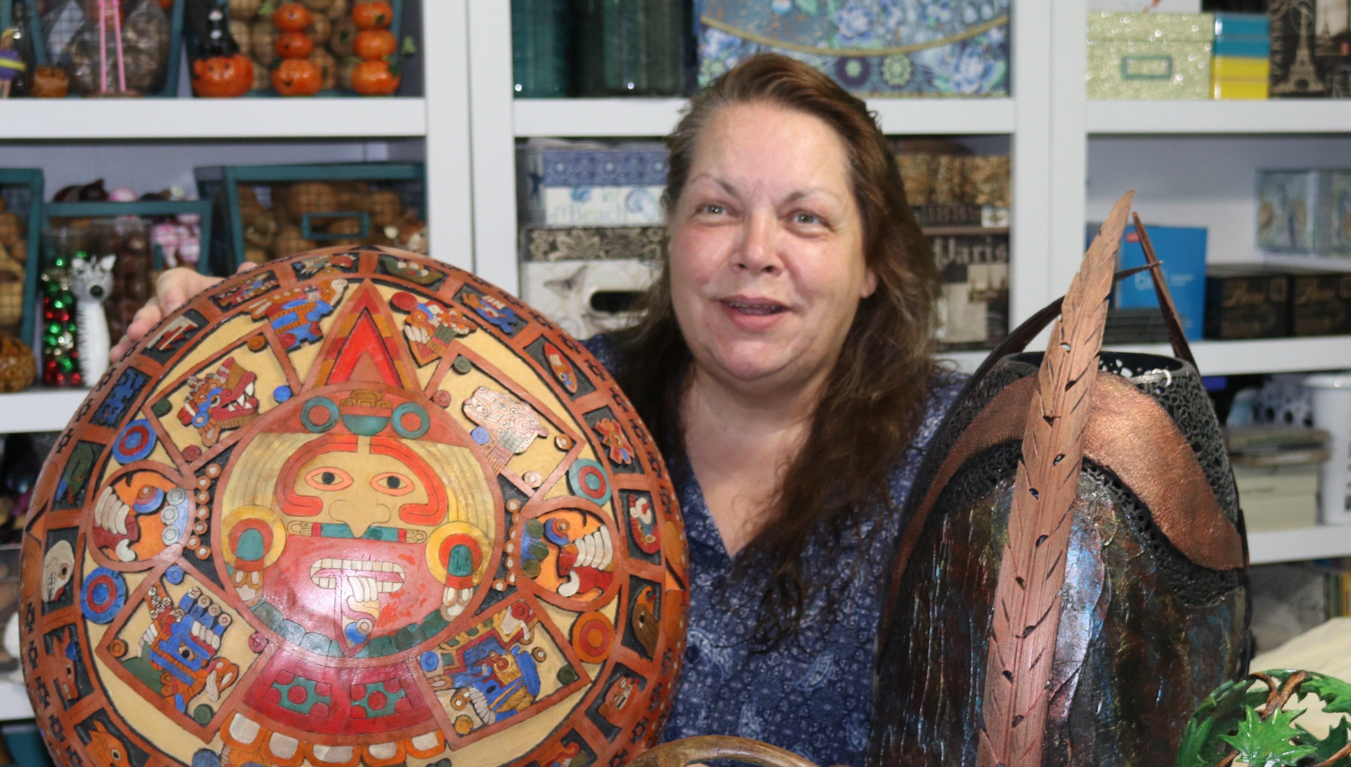 Handmade: Designer carves niche in world of gourd art