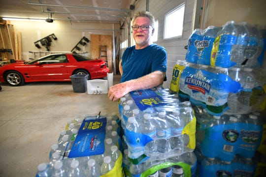 Steve VanDiver fears the implications of long-term use of the water prior to the discovery of the chemicals in his area of west Michigan.