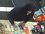 Surveillance image of suspect accused in an armed robbery reported Tuesday, September 25, 2018, at a 7-Eleven on Masonic in Roseville.