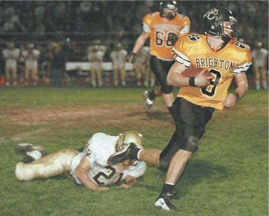 Cullen Finnerty starred at Brighton High before becoming a legend at Grand Valley State.