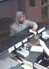 Roseville police are searching for this man in connection with the early Thursday morning robbery of a Microtel.
