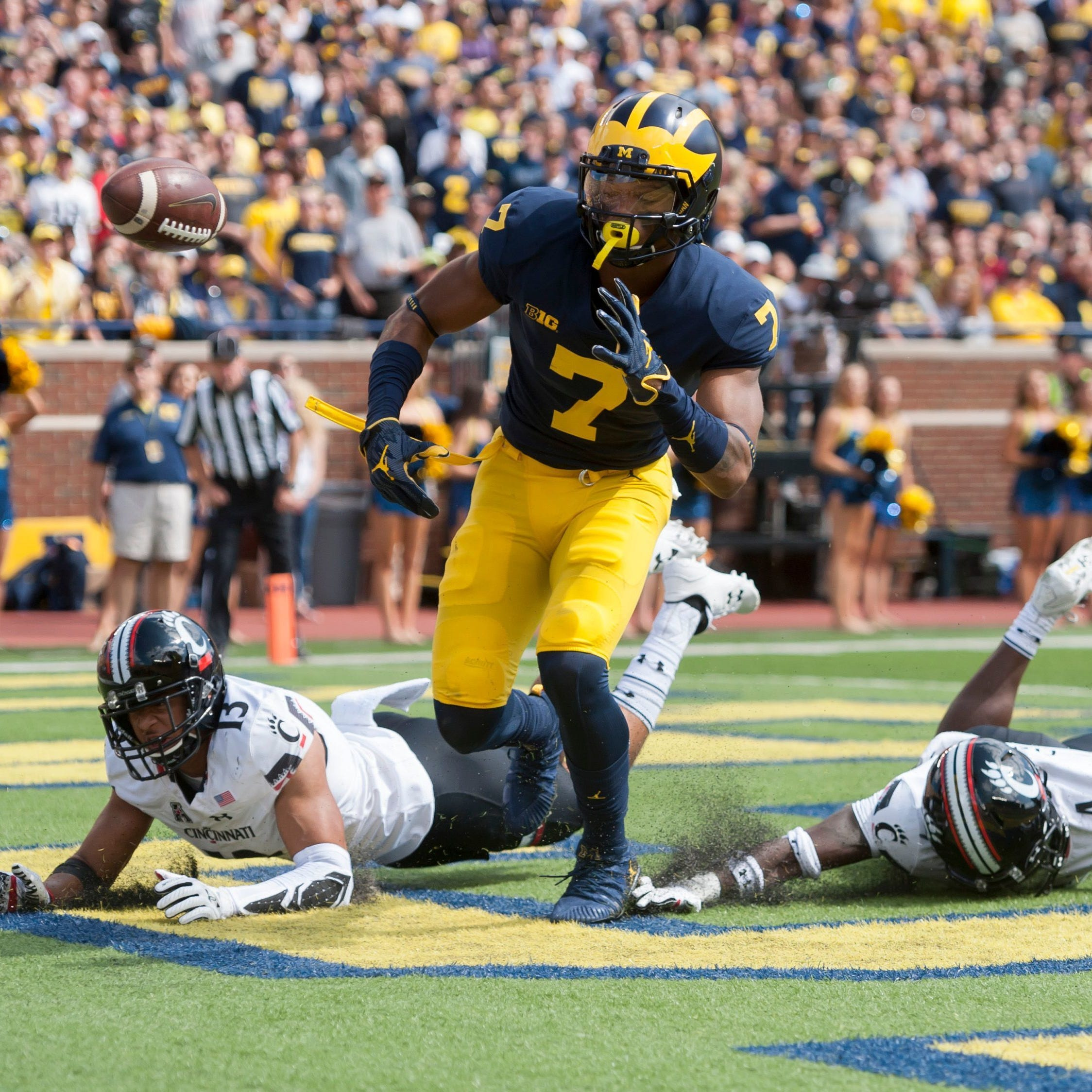 Michigan receiver Tarik Black to return on Saturday, or maybe not