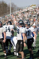 Cullen Finnerty won the last 28 games he played for Grand Valley State.