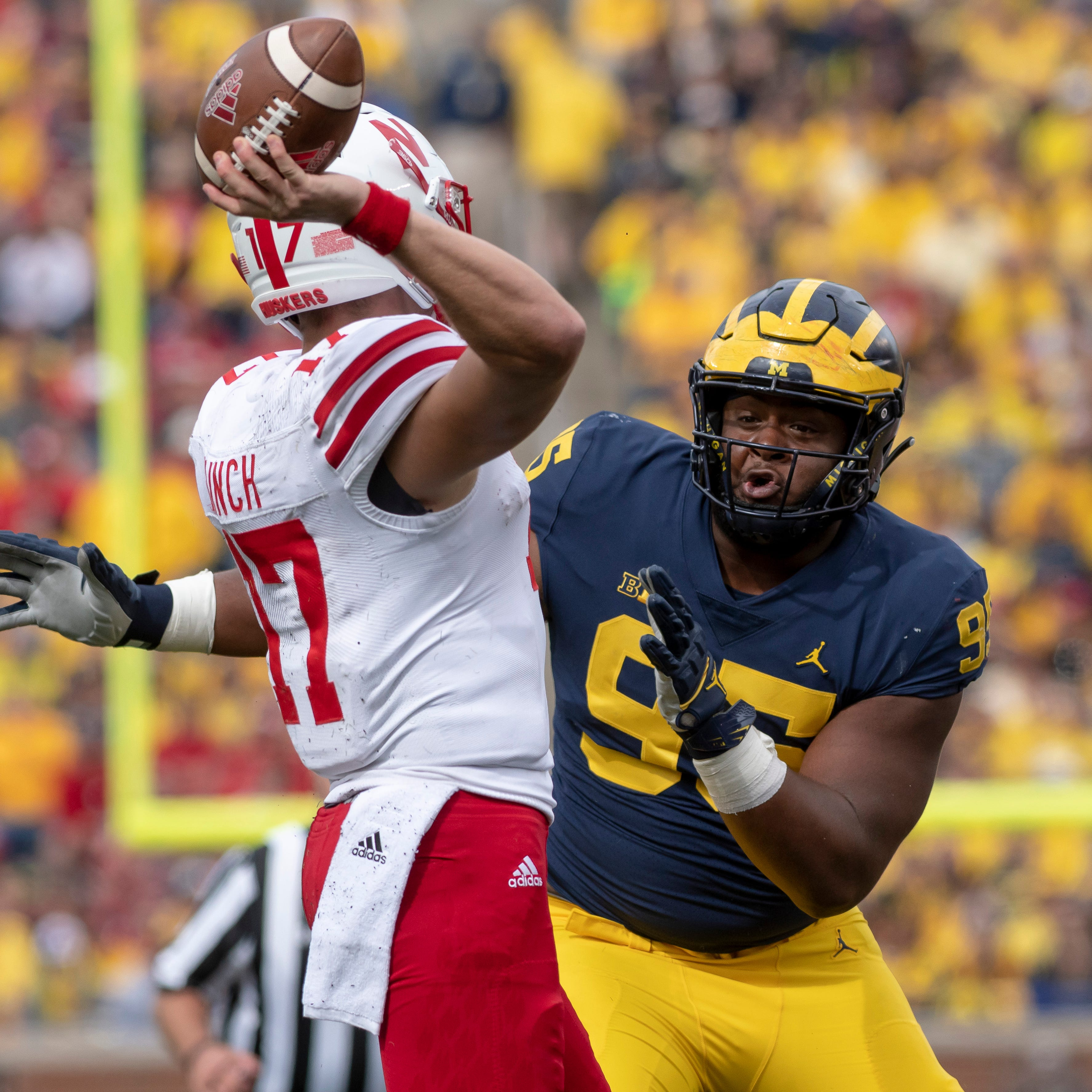 Michigan's D-line refuses to be 'put at the back of the list'