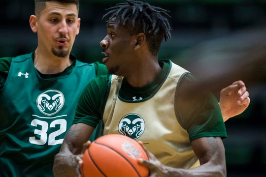 Former CSU basketball player Zo Tyson, right, has said he'll transfer to IUPUI.