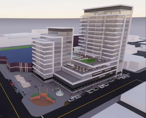 Adams Street Lot Base Plan