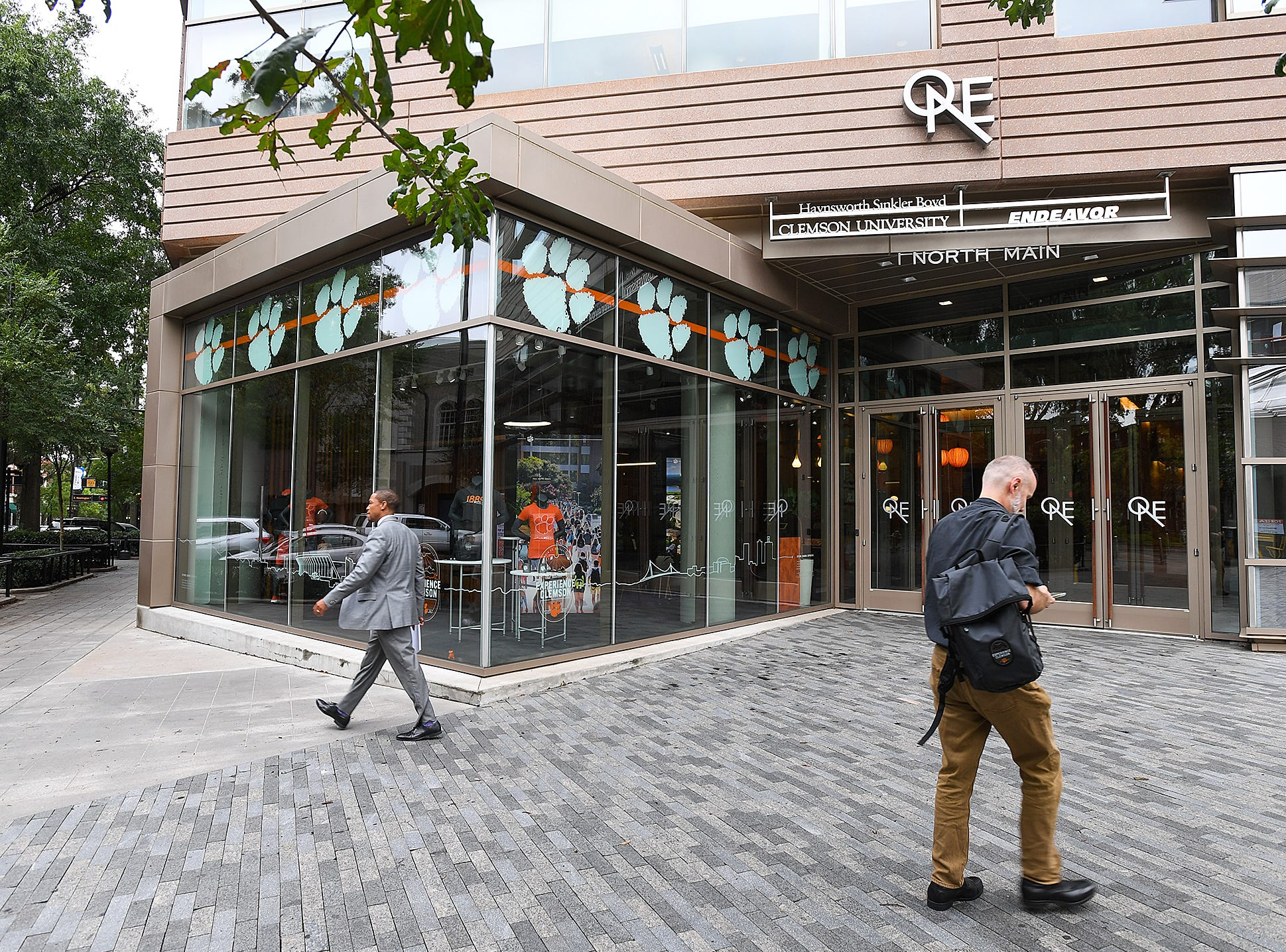 The newly renovated Experience Clemson at One North Main St. in downtown Greenville Thursday, September 27, 2018.