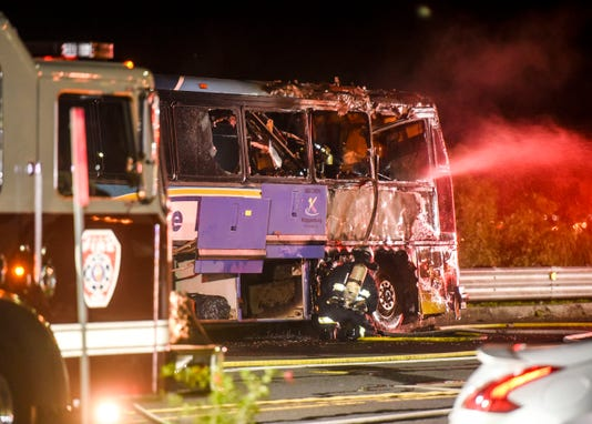 Bus Fire 01