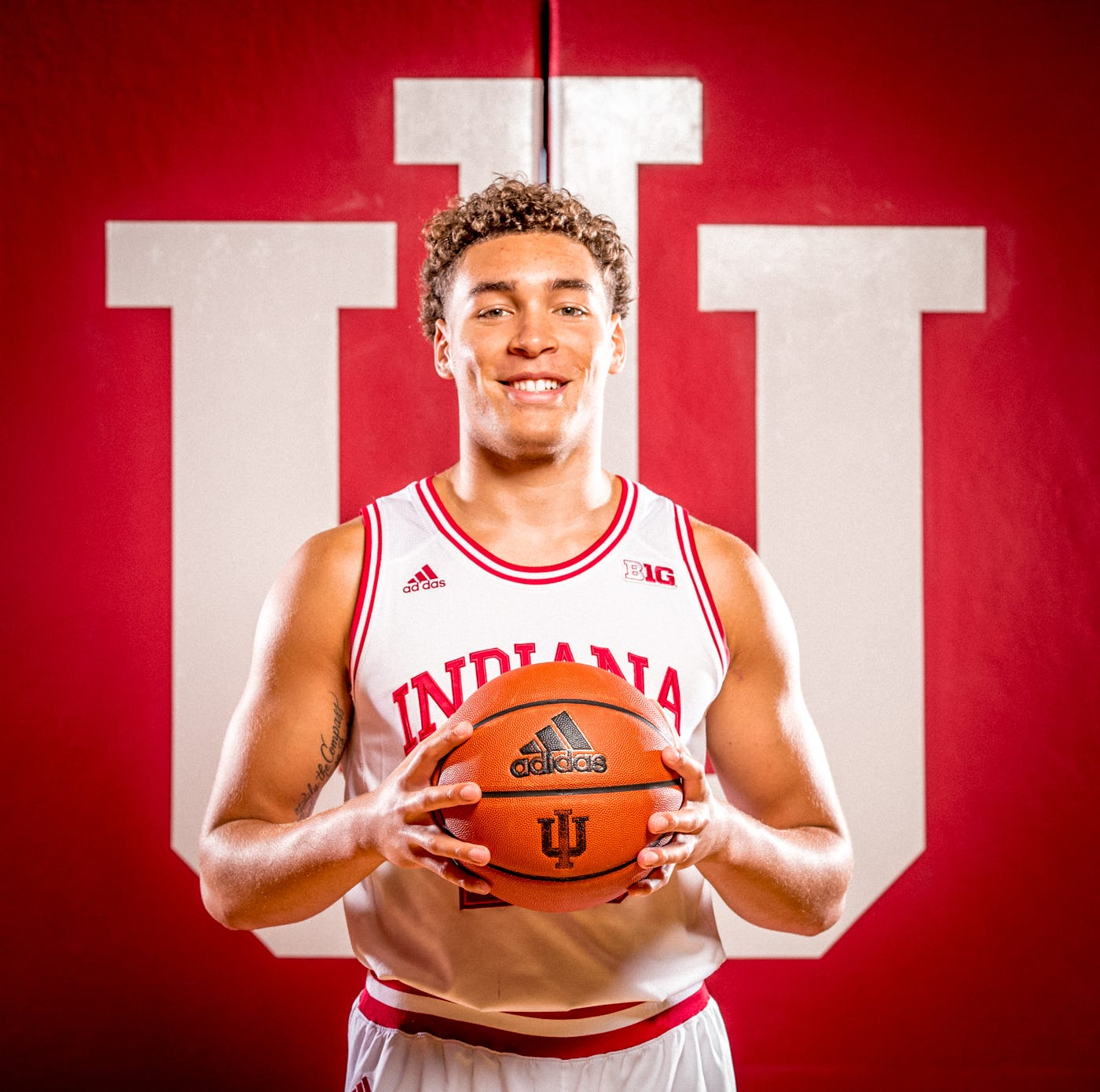 Race Thompson is photographed during Indiana...