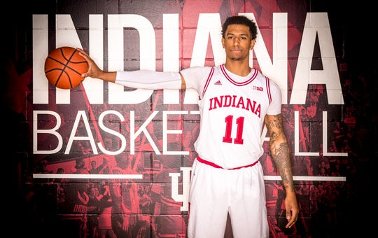 Devonte Green is photographed during Indiana University Media Day at Simon Skjodt Assembly Hall on Wednesday, Sept. 26, 2018.