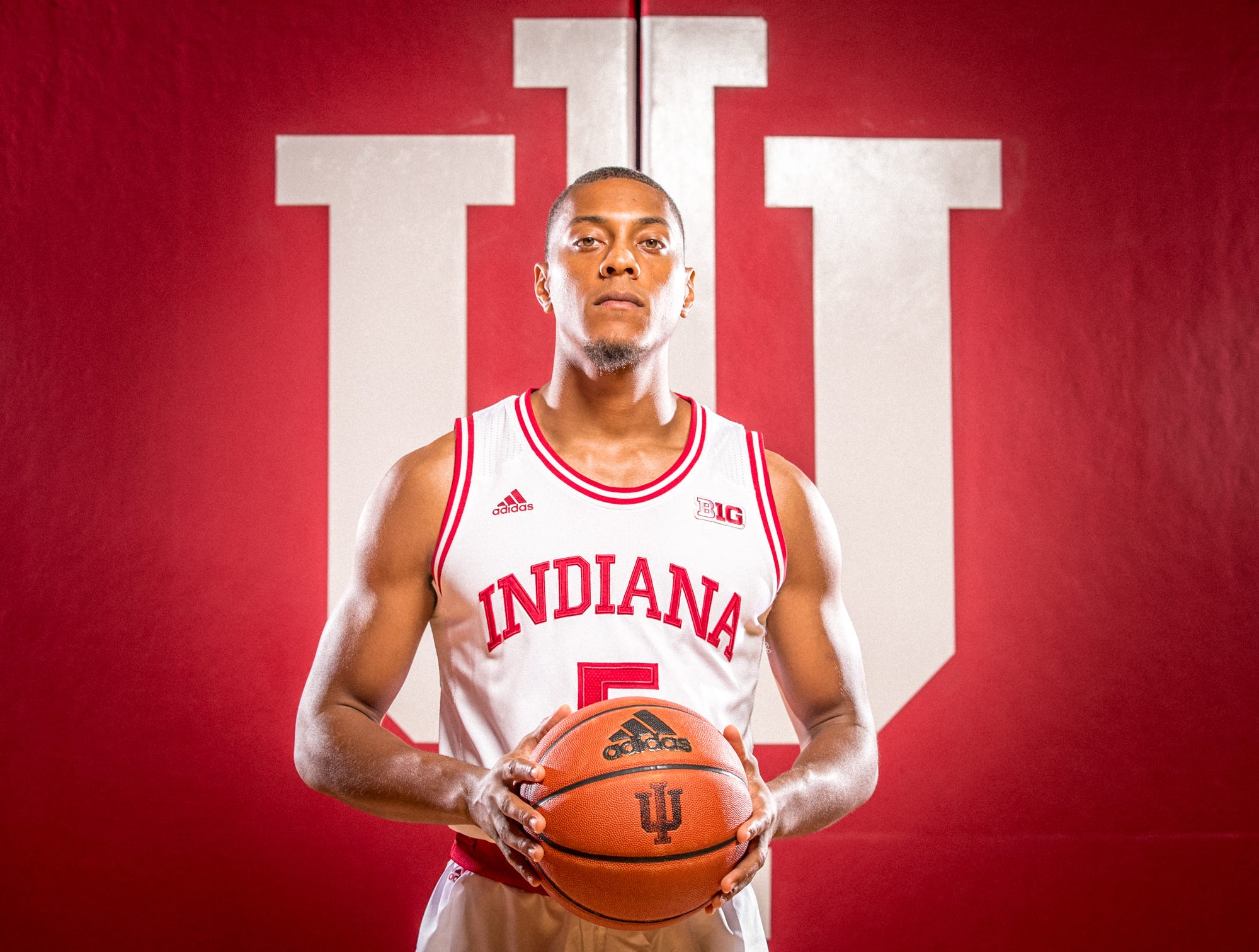 Quentin Taylor is photographed during Indiana University Media Day at Simon Skjodt Assembly Hall on Wednesday, Sept. 26, 2018.