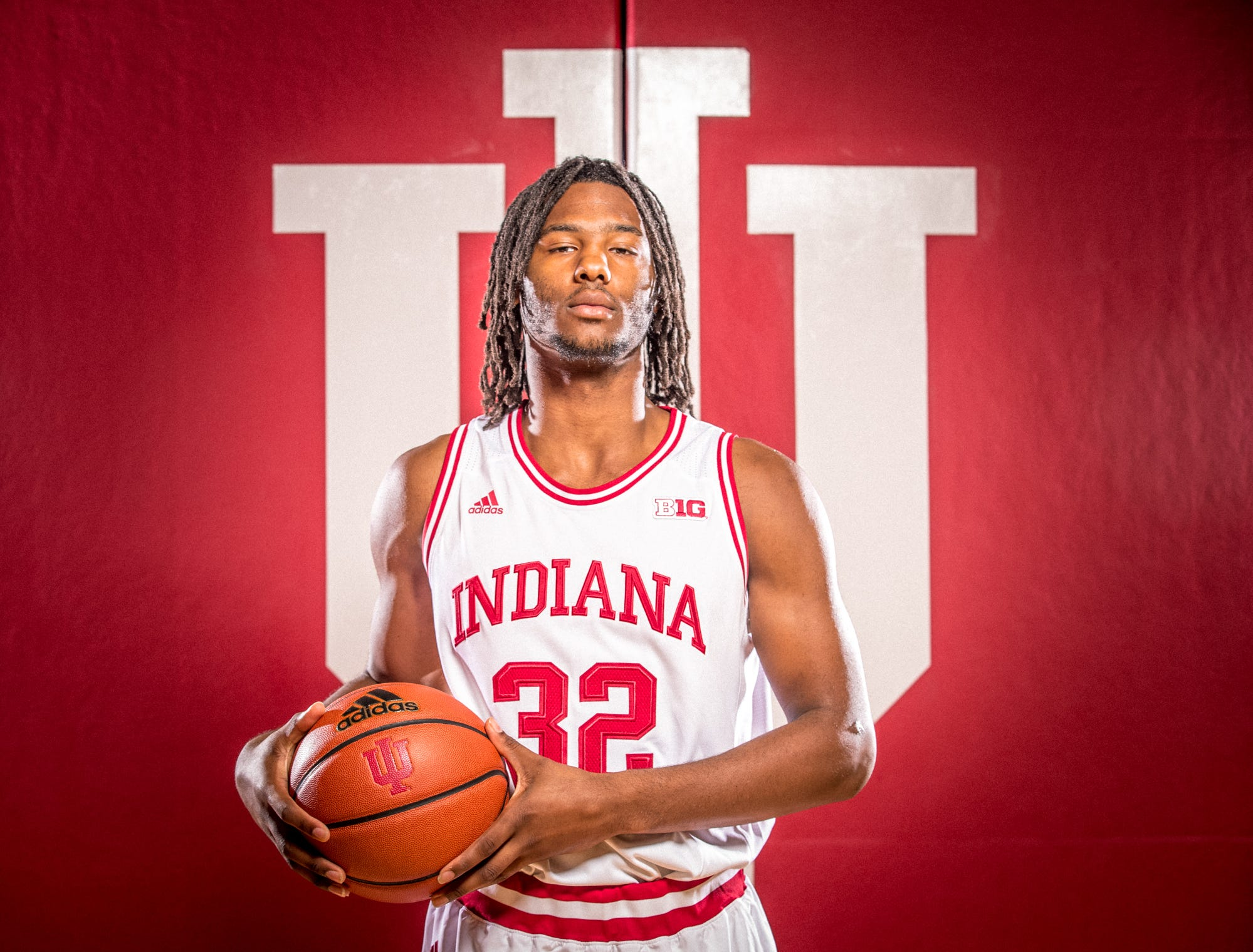Damezi Anderson is photographed during Indiana University Media Day at Simon Skjodt Assembly Hall on Wednesday, Sept. 26, 2018.