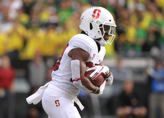 Stanford running back Bryce Love was the 2017 Heisman Trophy runner-up.