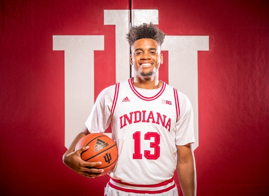 Juwan Morgan photographed during Indiana University Media Day at Simon Skjodt Assembly Hall on Wednesday, Sept. 26, 2018.