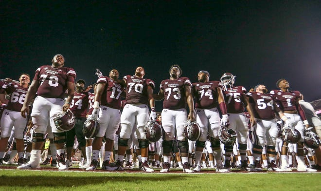 Mississippi State held a players-only meeting ahead of a major matchup with Florida on Saturday. Photo by Keith Warren/Mandatory Photo Credit