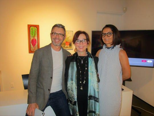Gary Castille, Melissa Bonin and Muriel Castille