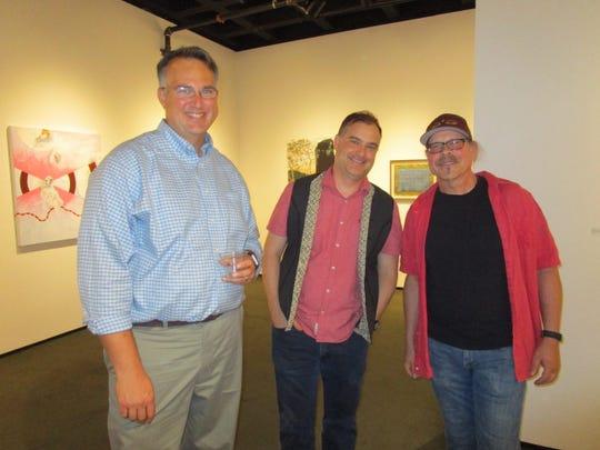 Michael Eble, Chris Bennett and Steven Breaux