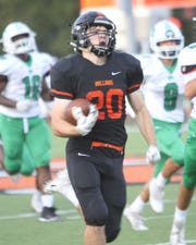 Brighton's Chris Seguin has rushed for 485 yards and five touchdowns.
