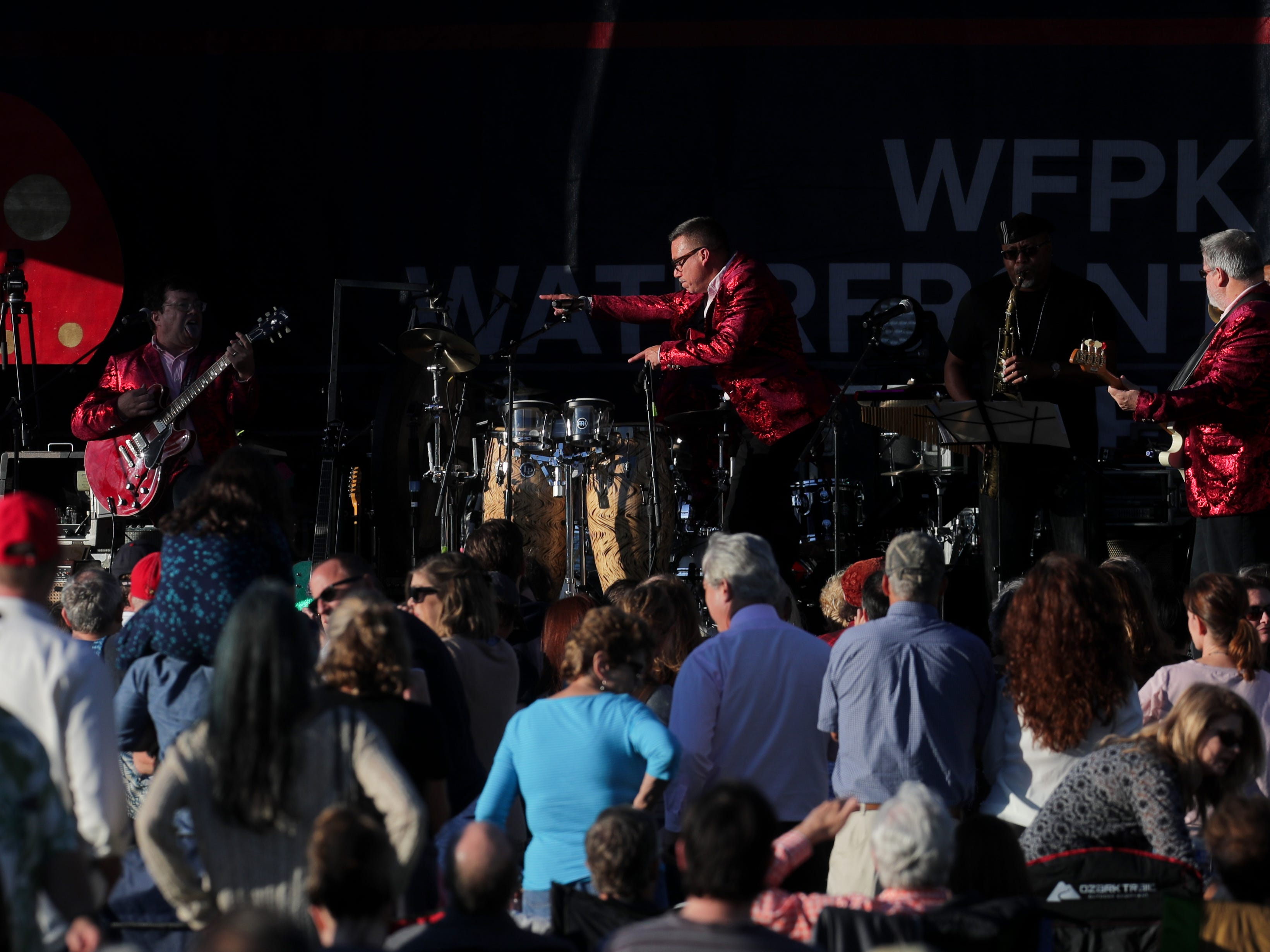 Love Jones performs at the last Waterfront Park Wednesday of the season. 