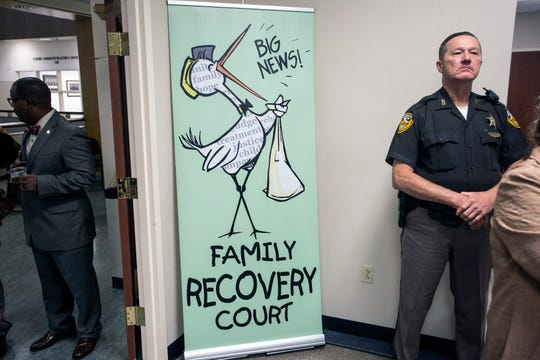 A fundraiser was held in on Wednesday afternoon to help support the Jefferson Family Recovery court. 9/26/18