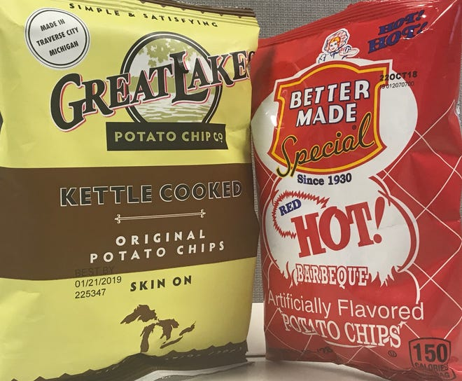 Free Michigan-made potato chips will be available at Potato Day at the Capitol, Oct. 3.