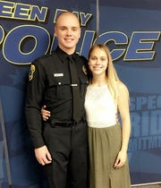 Green Bay police officer Colton Wernecke.