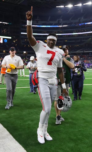 Ohio State quarterback Dwayne Haskins will be back on the big stage Saturday night after walking out of AT&T Stadium two weeks ago victorious against TCU.