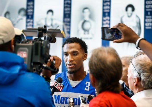 Memphis Bball Media Day