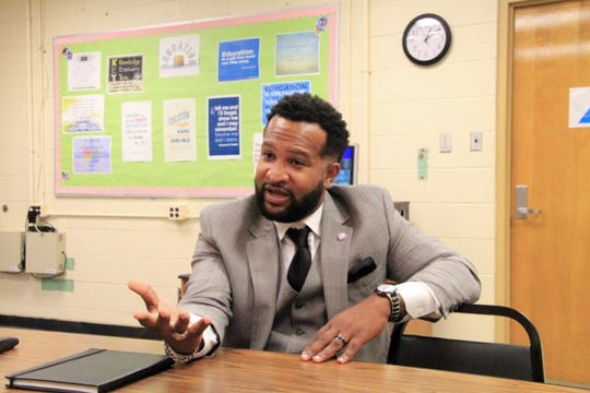 Antonio Burt became assistant superintendent in 2017 over the Innovation Zone and other struggling schools within Shelby County Schools. He is now the district's academic chief.