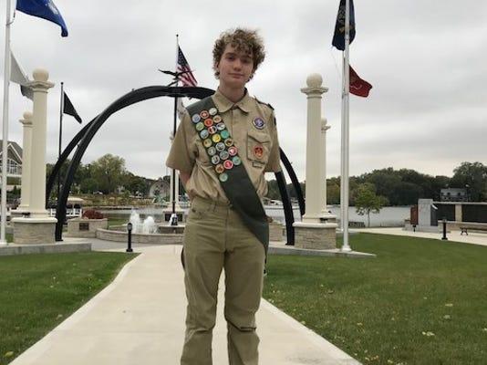 Hans Schiefelbein2 Eagle Scout Project 2018
