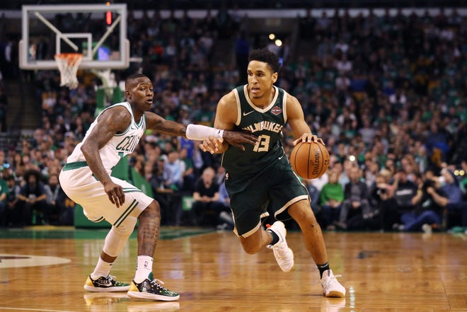 Malcolm Brogdon is being asked to play both guard positions in new Bucks coach Mike Budenholzer's system.