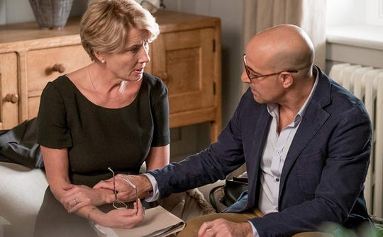 "Emma Thompson and Stanley Tucci star in ""The Children Act."""