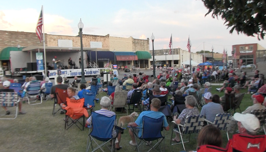 Mountain Home's Friday Night Block Parties averaged about 400 people per performance this year, organizer Ron Shire said.