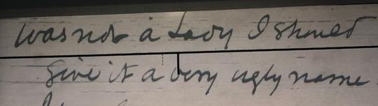 Henry Shelton Sanford correspondence about Mrs. Fair.
