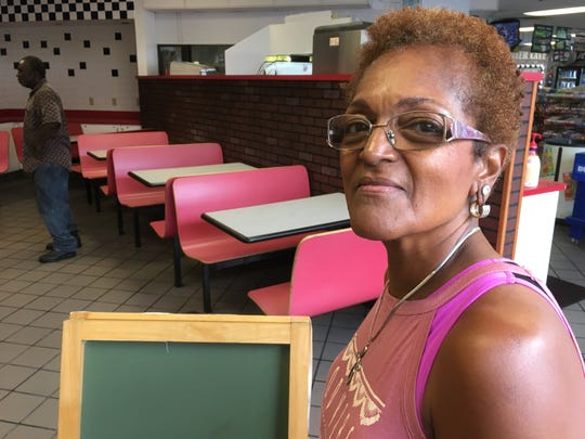 Connie Washington's family has a history in the restaurant business.