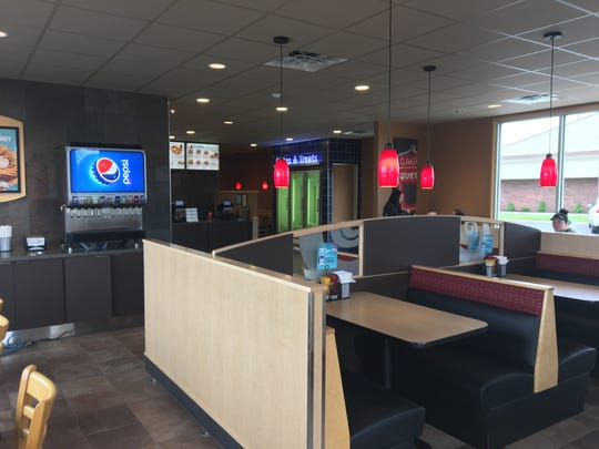 The inside of Muncie's Bethel Avenue Dairy Queen has been remodeled and will reopen Monday, Oct. 1, 2018, a year after a fire damaged the back part of the building.