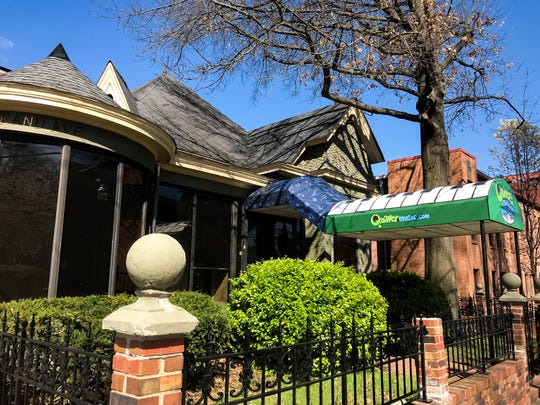 Quaver Music, a digital music curriculum company, is headquartered in five buildings  on Music Row, including this old house on Grand Ave.