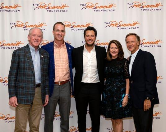 Gov Haslam Hosts Pat Summitt Foundation Event