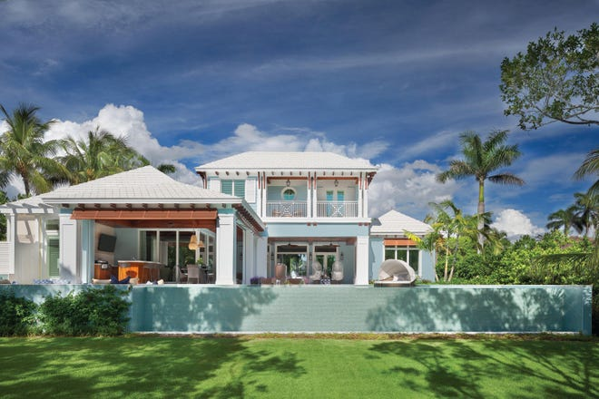This Port Royal residence designed by Kukk Architecture & Design won four Sand Dollar Awards for BCB Homes. The home also won multiple interior design awards for Collins & DuPont Interior Design.