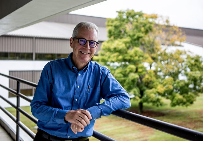 """O'Brien-Bernini, now """"61 years young,"""" joined Owens Corning in 1983. Over his 35 years with the company, he's held various leadership positions. He's now the senior leader at the Tech Center, as well as the VP and chief sustainability officer of Owens Corning."""