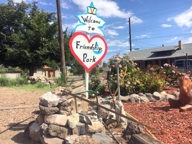 The Friendship Park sits at 613 S. Iron Street in Deming, NM.