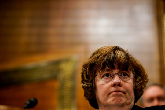 Rachel Mitchell at a Senate Judiciary Committee hearing on Sept. 27, 2018 on Capitol Hill.