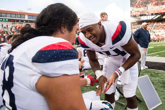 Will Khalil Tate and the Arizona Wildcats be smiling after the game against USC.